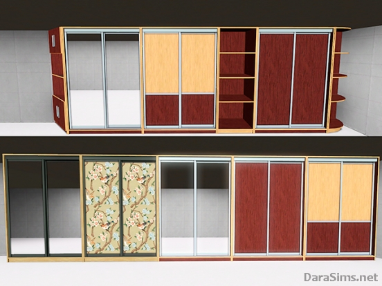 sliding wardrobe set by dara_savelly