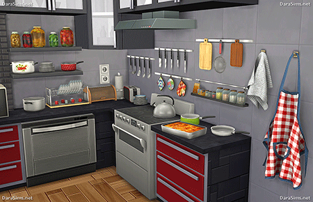 kitchen decor sims 4 by dara savelly