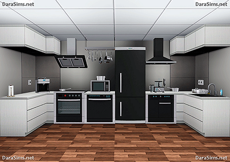 kitchen set sims 3 by dara savelly