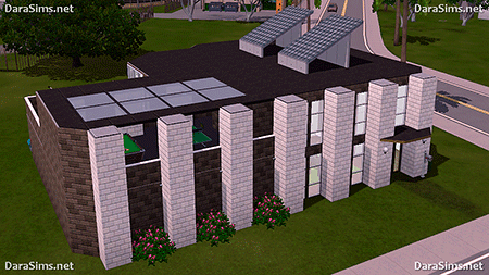 residental house sims 3