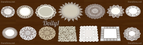 crochet doily sims 4 by dara savelly