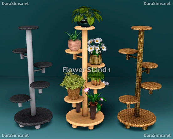 flower stands and sills sims 3 by dara savelly