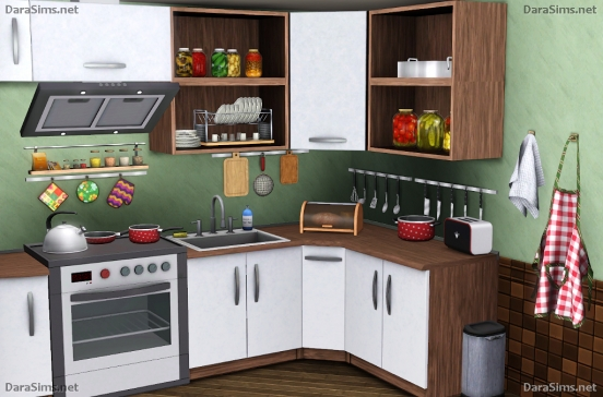 kitchen decor set sims 3 by dara savelly