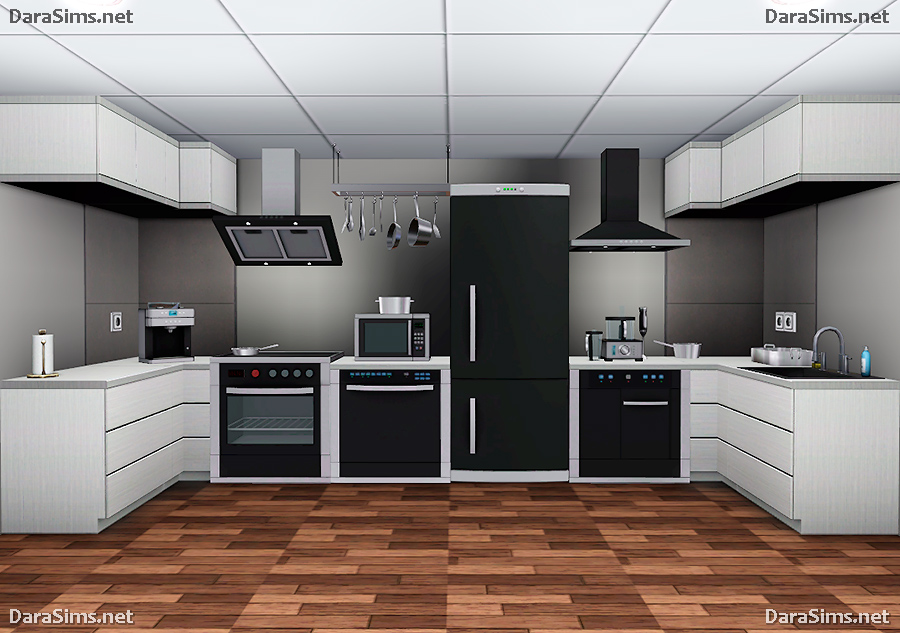 sims 2 kitchen cabinets kitchen set for the sims 3 darasims net 26141