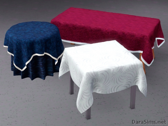 tablecloth set the sims 3