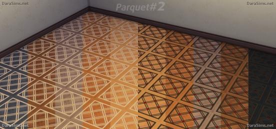 wood parquet floors sims 4 by darasims