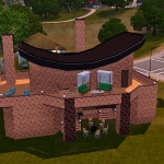 residental house nocc sims 3