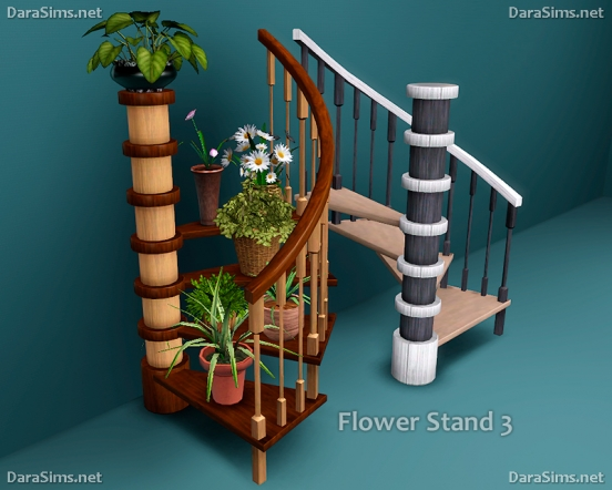 flower stands and sills sims 3 by darasims