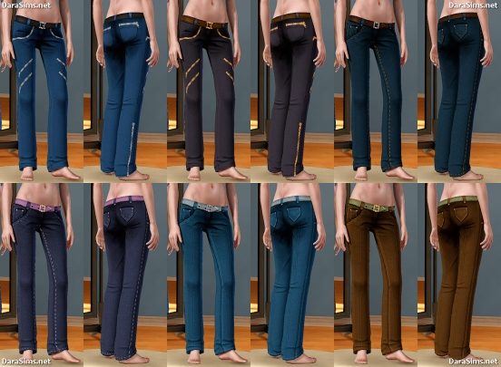 female jeans sims 3