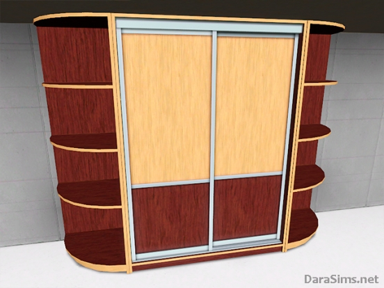 sliding wardrobe set sims 3