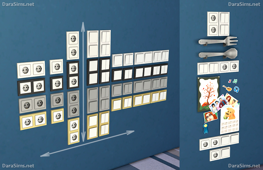 Switches And Sockets The Sims 4 Darasims Net