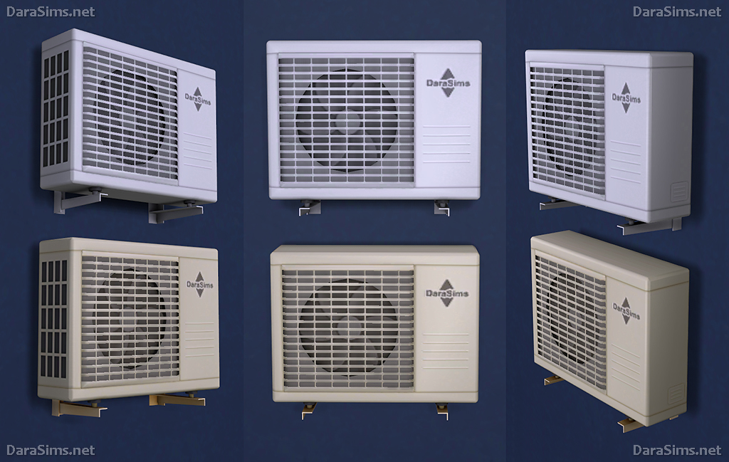 Air conditioners (for The Sims 4) | DaraSims net