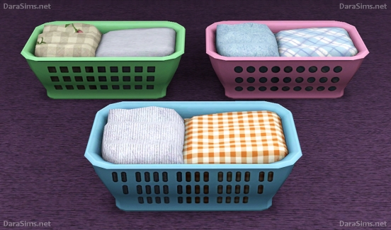 laundry basket sims 3
