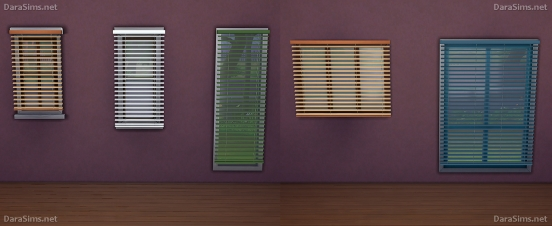 modular window blinds sims 4