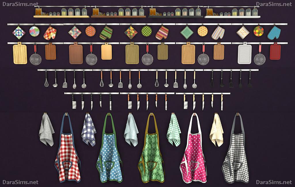 Kitchen Decor Set (The Sims 4) | DaraSims.net