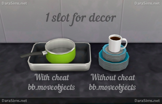 kitchen decor sims 4