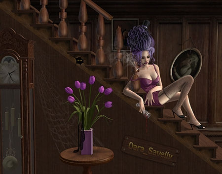 art-violet-by-dara-savelly