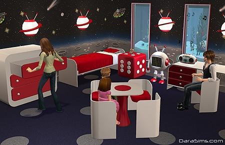 kids furniture set sims 2
