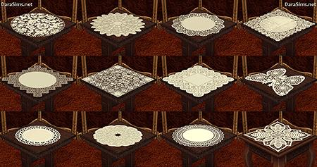 napkin set sims 2