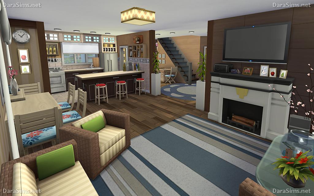Family Corner House For Sims 4 Nocc Darasims Net