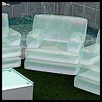 Набор надувных прозрачных сидений