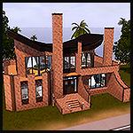 Кирпичный дом noCC