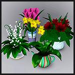 Набор цветов №2