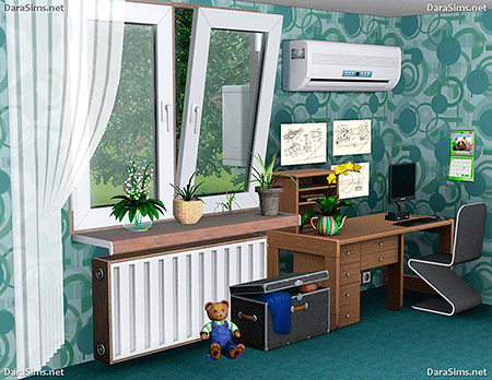 radiators and air conditioning sims 3 by dara savelly