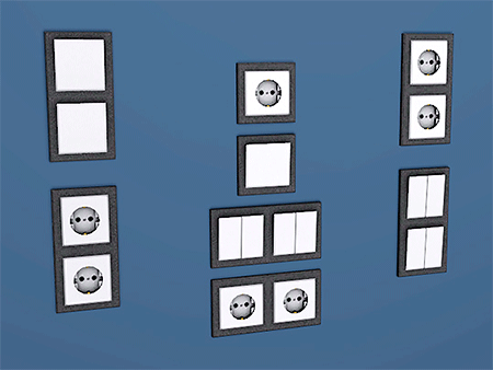 switches and sockets sims 3 by dara savelly