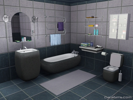 bathroom set the sims 3