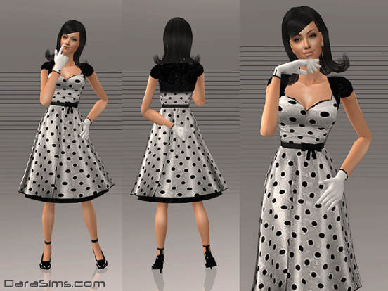 1-dress-with-polka-dots-sims-2