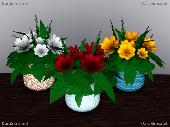 flower set sims 3