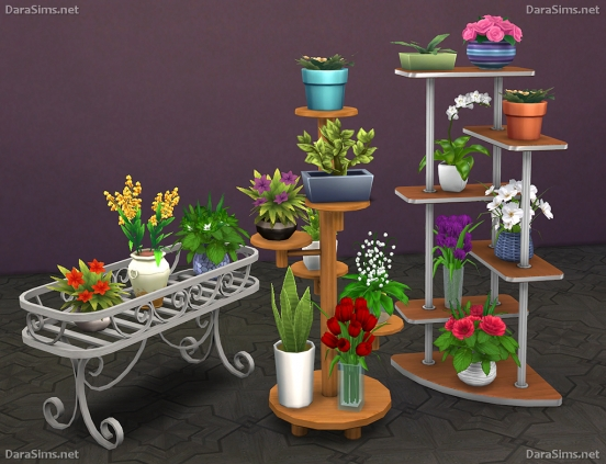 flower stands sims 4 by dara savelly