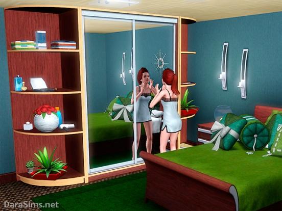 Sliding Wardrobe Set (The Sims 3) DaraSims.net