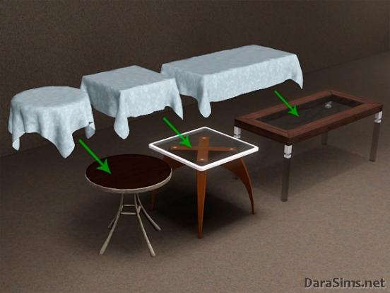 tablecloth set sims 3