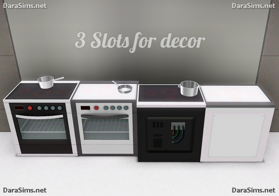 kitchen stove sims 3