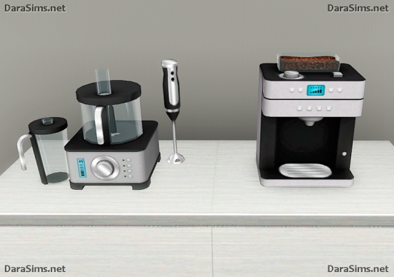 blender and hot beverage machine sims 3
