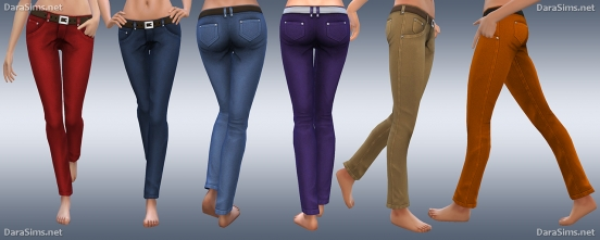 female jeans sims 4 by darasims