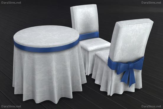 festive dining set sims 4 darasims