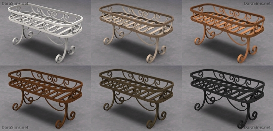 flower stands sims 4 by darasims