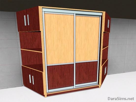 sliding wardrobe set sims 3