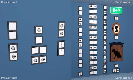 switches and sockets sims 3