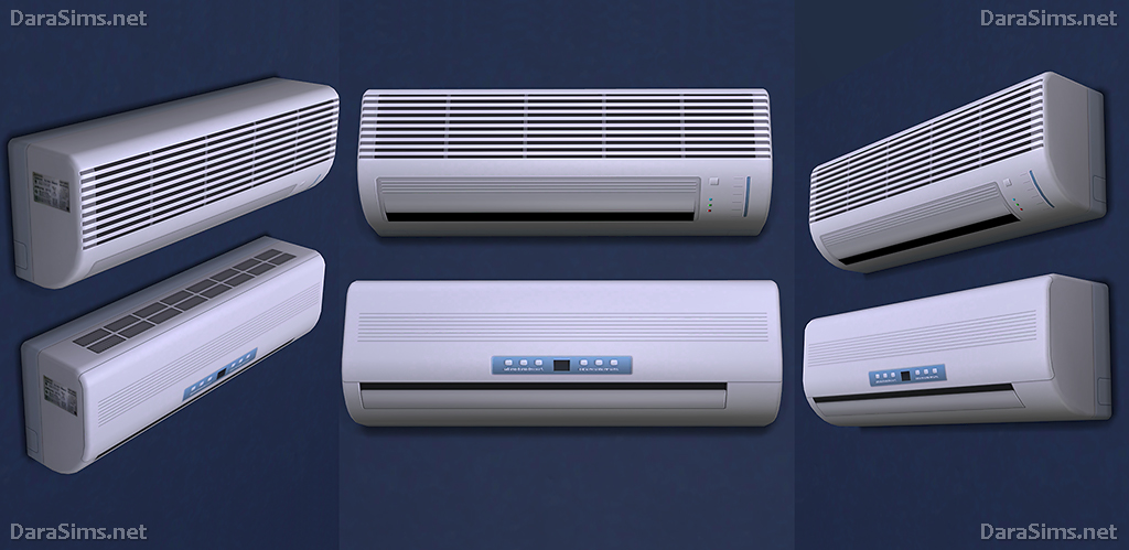 Air Conditioners For The Sims 4 Darasims Net