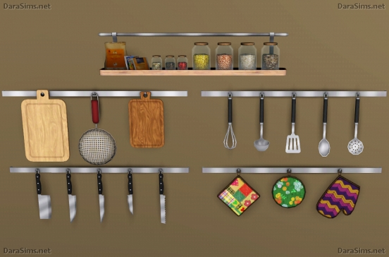 kitchen decor set sims 3
