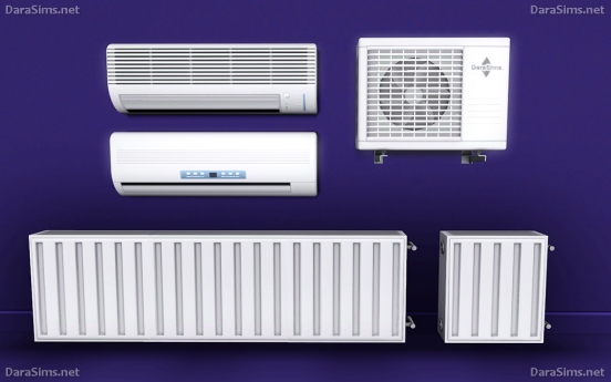 radiators and air conditioning sims 3