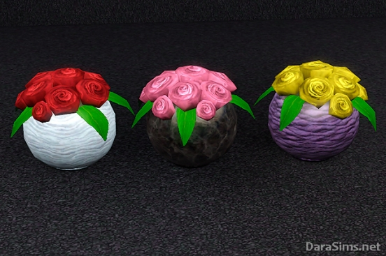 sims 3 roses