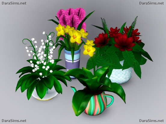 flower set sims 3 by dara savelly