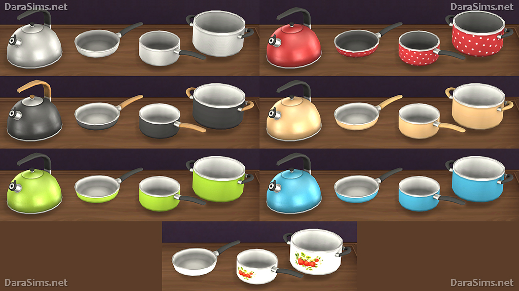 Kitchen decor set the sims 4 for Decoration 4