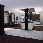 brick house nocc sims 3