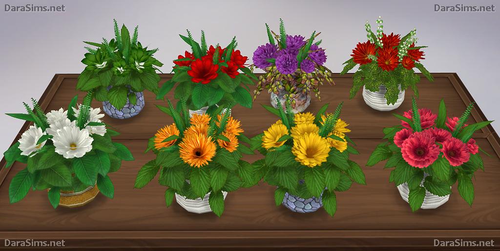 Flower Set For The Sims 4 Darasims Net